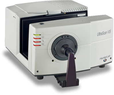 Angled view of the UltraScan VIS spectrophotometer